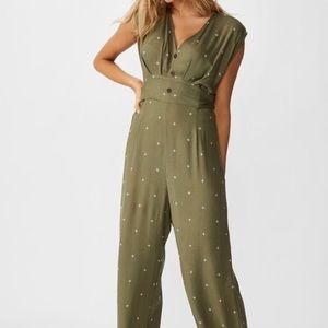 NWT Delilah Jumpsuit with Tieback Med